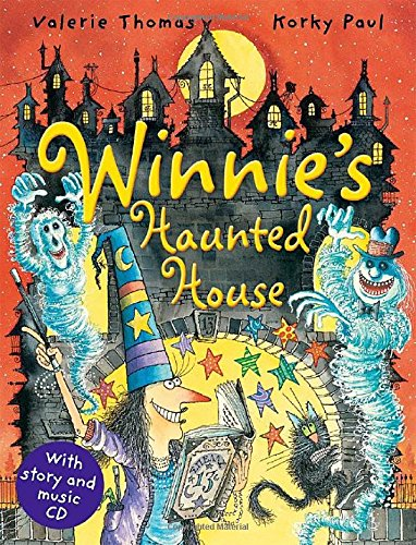 Winnie's Haunted House with audio CD