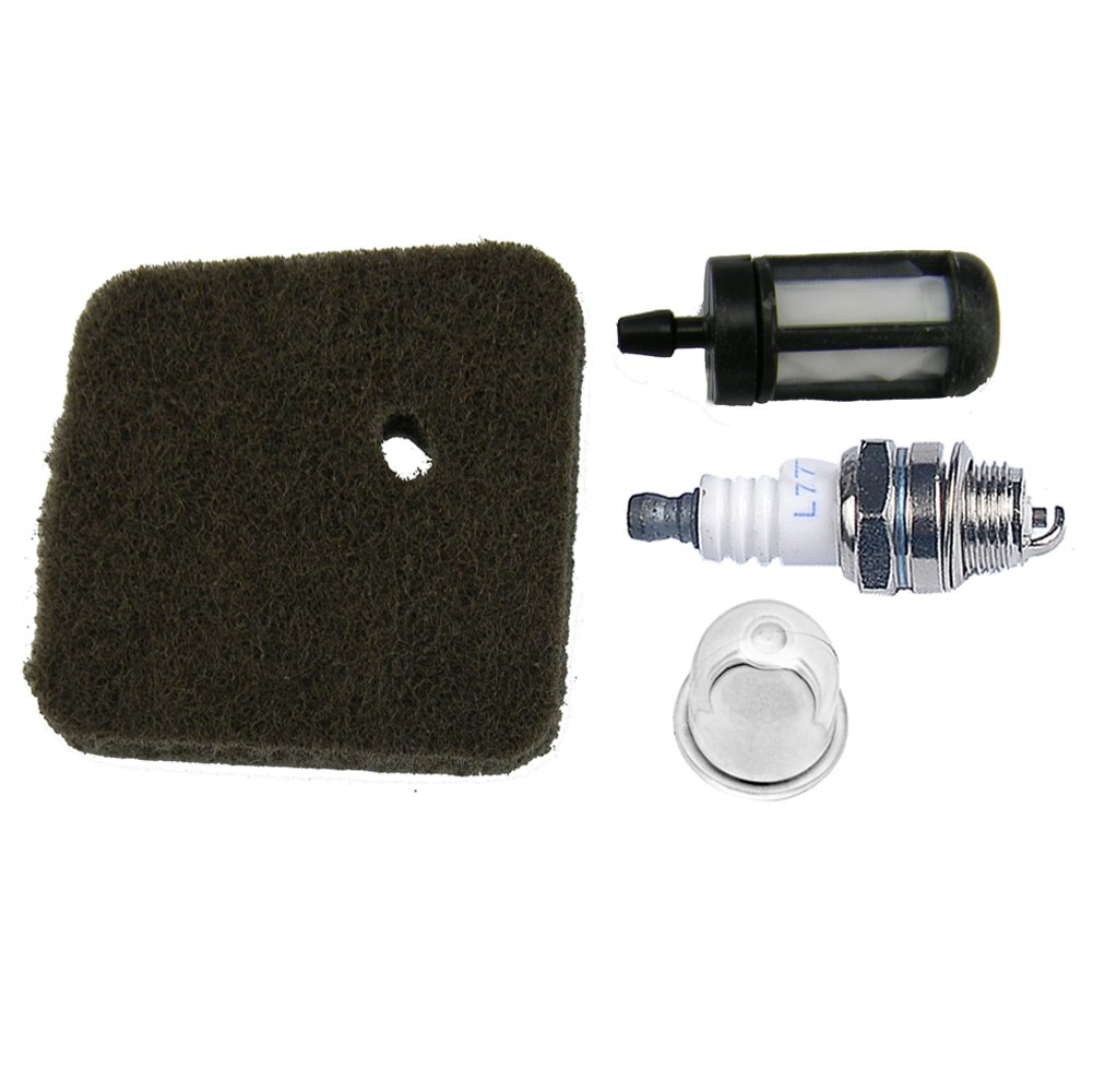 Clean spark plug