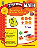 img - for Teacher Created Resources 8990 Teacher Created Resources Targeting Math, Operations/Number Patterns, Grade 1-2 book / textbook / text book