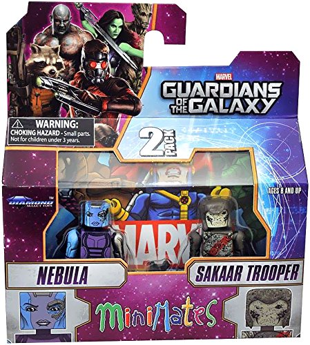 Guardians of The Galaxy Minimates Series 57 Mini Figure 2-Pack Nebula & Sakaar Soldier