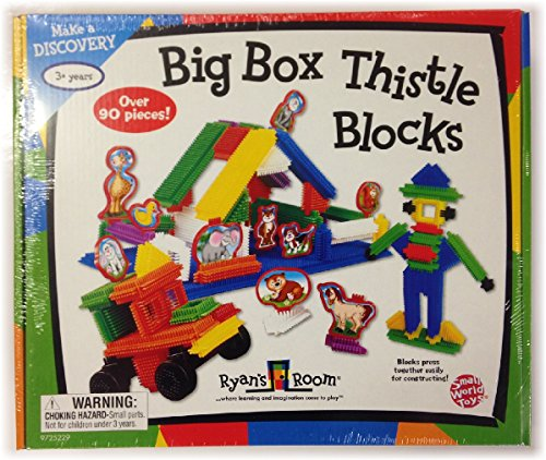 Small World Toys Ryan's Room Big Box Thistle Blocks - 90 Pieces - 1