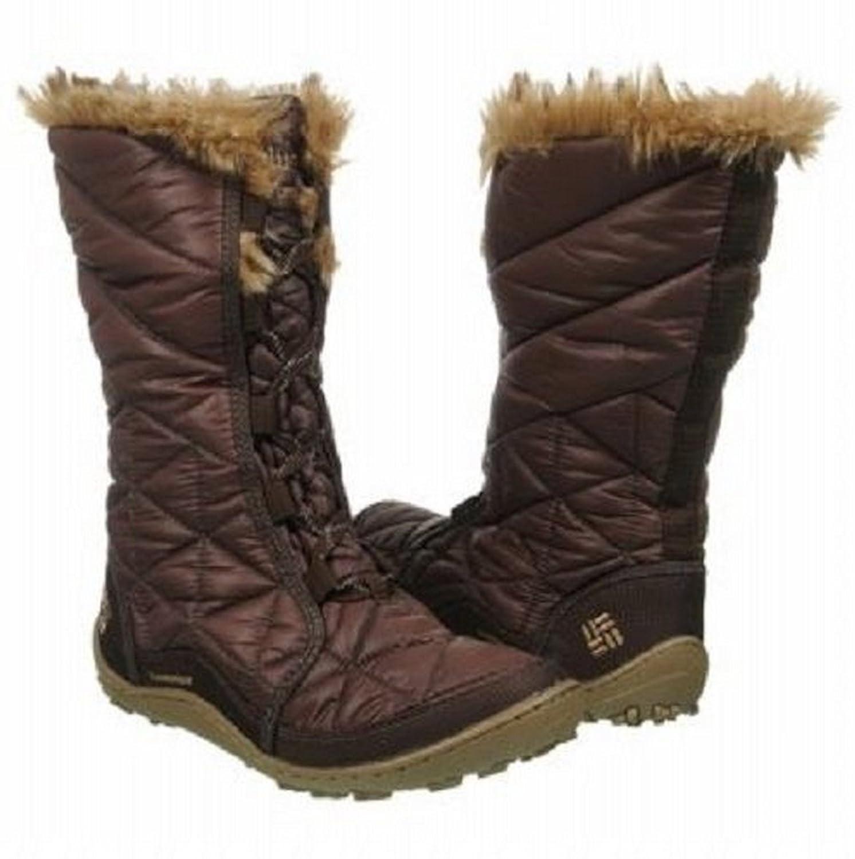 Columbia Womens Powder Summit Waterproof Snow Boots Cordovan кольцо hob 925 anillos bague tfsjr004
