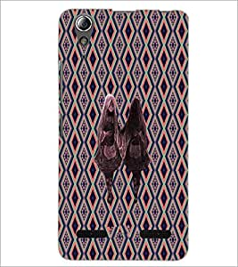 PrintDhaba Ghost Twins D-3186 Back Case Cover for LENOVO A6000 (Multi-Coloured)