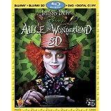 Alice In Wonderland (Four-Disc Combo: Blu-ray 3D / Blu-ray / DVD / Digital Copy) ~ Johnny Depp