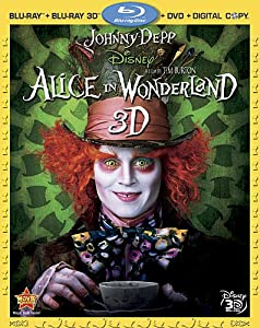 Alice in Wonderland [Blu-ray 3D + Blu-ray + DVD + Digital Copy] (Bilingual)
