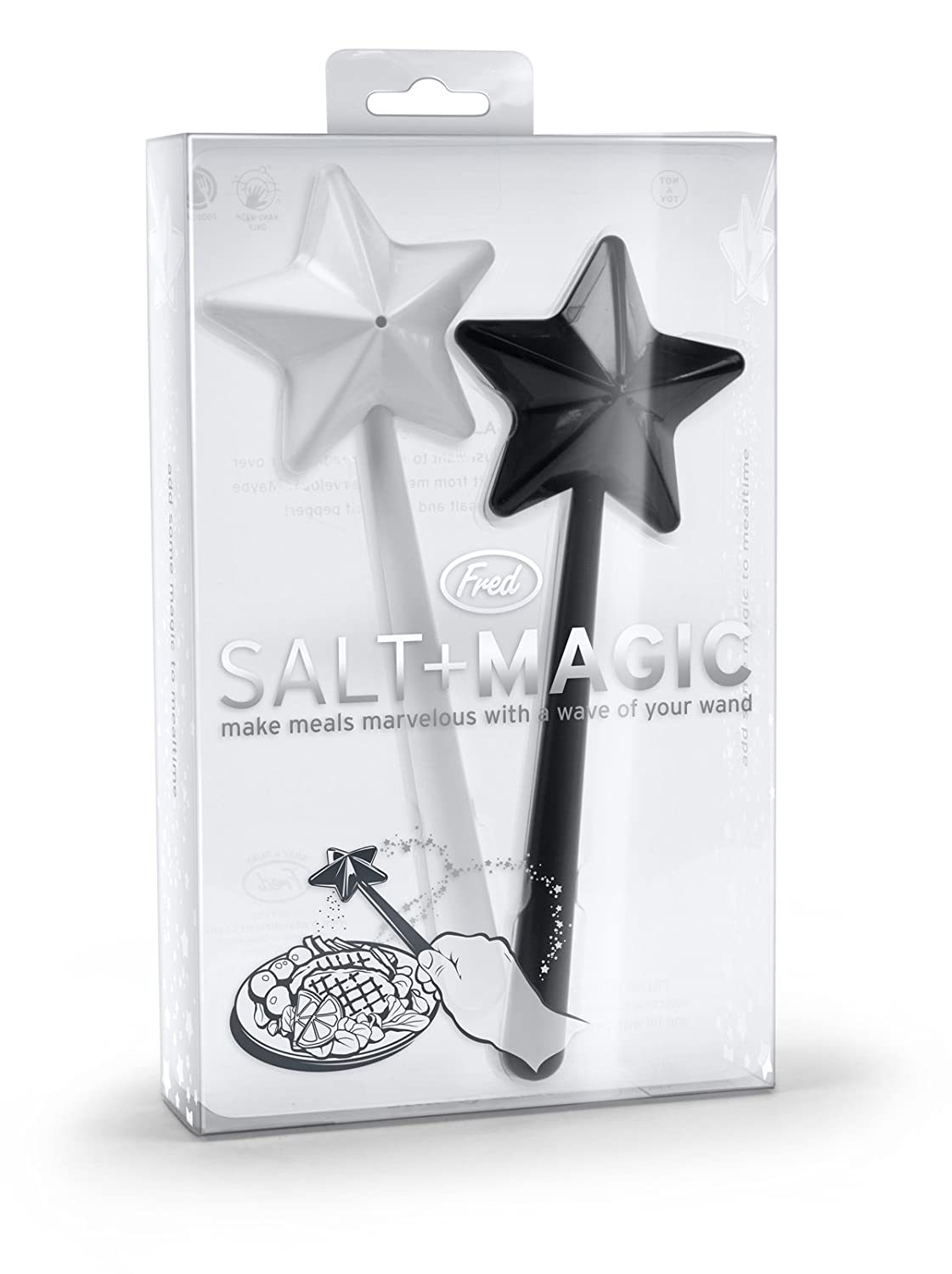 Magic Wand Salt & Pepper Shaker #Fun Kitchen Items