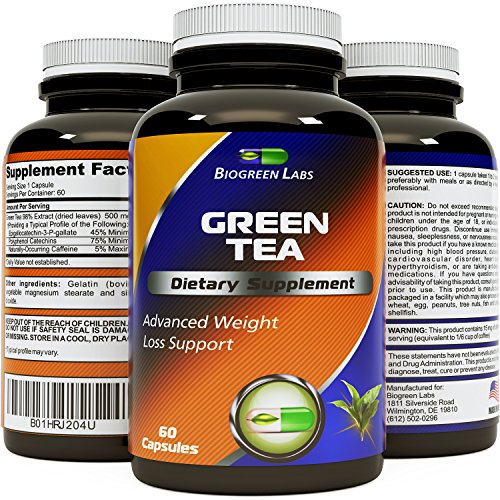 Weight-Loss-Pills-With-Green-Tea-EGCg-With-Polyphenols-And-Antioxidant-To-Supplement-A-Weight-Loss-Plan-Vegetarian-Vegan-Capsule-For-Men-And-Women-By-Biogreen-Labs-500-mg-Cellulose-Pill