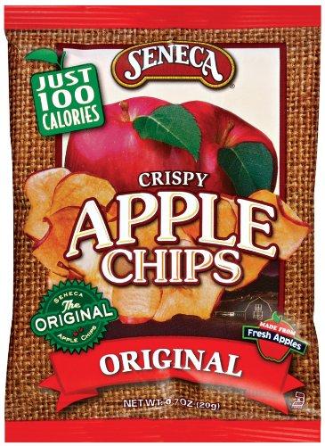 Seneca Original Red Apple Chip,.7-Ounce Bags (Pack of 60)
