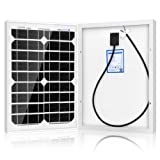 ACOPOWER 20W Mono Solar Panel for 12 V Battery Charging, Off Grid (Tamaño: 20 Watts)
