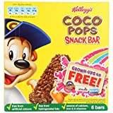 Kelloggs Coco Pops Cereal Bars 6 Pack 120g