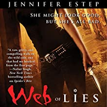Web of Lies: Elemental Assassin, Book 2 Audiobook by Jennifer Estep Narrated by Lauren Fortgang
