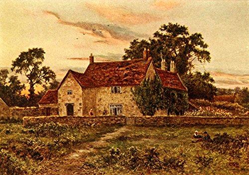 daniel-sherrin-in-unfamiliar-england-1910-sulgrave-manor-kunstdruck-6096-x-9144-cm