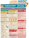 Chemistry Equations & Answers (Quickstudy: Academic)