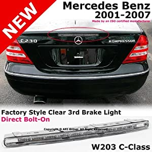 2001 to 2007 mercedes benz w203 c230 c240 c280 c320 c350 01 07 third stop brake. Black Bedroom Furniture Sets. Home Design Ideas