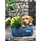 Wonderland The Dog In The Bag Flower Pot ( Gifting , Garden Planters , Pots )