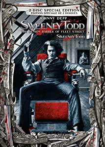 Sweeney Todd: The Demon Barber of Fleet Street (Widescreen 2-Disc Collector's Edition) (2007) (Bilingual)