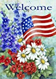 Toland Home Garden Patriotic Welcome House Flag 102060