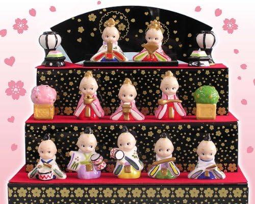 キューピー ひな人形 3段飾り ミニサイズ (ローズ・オニール・キューピー)