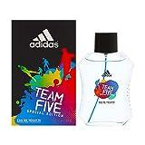 adidas Team Five Special Edition Eau De Toilette Spray for Men, 3.4 Ounce (Color: Multi, Tamaño: 3.4 Fl. Oz)