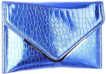 BCBGeneration Louisa BKJ020GN Clutch,Cobalt,One Size