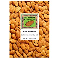 Raw Almonds - 1 Lb Resealable Bag