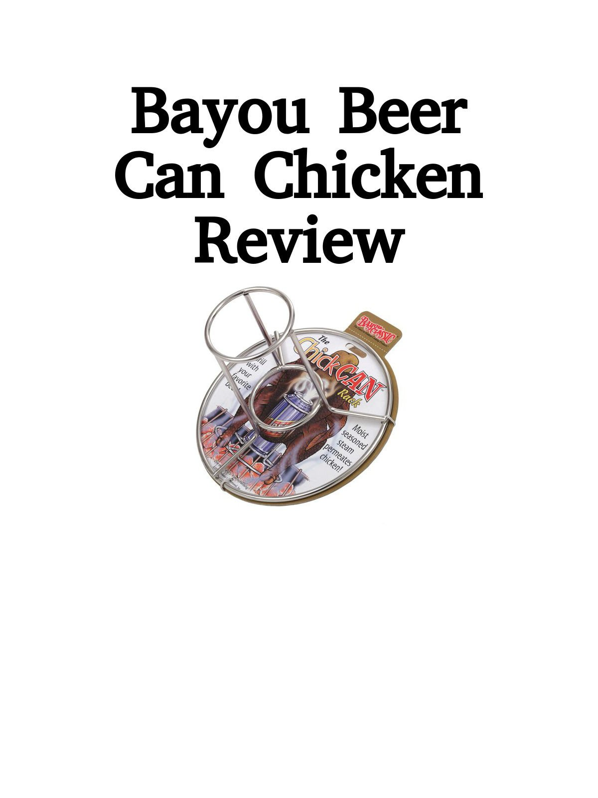 Review: Bayou Beer Can Chicken Review on Amazon Prime Video UK
