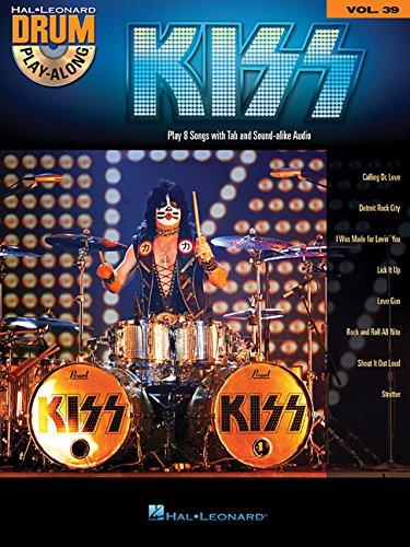 Drum Play Along Volume 39 Kiss Drums Bk/CD (Hal Leonard Drum Play-Along)