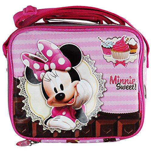 Disney Minnie Sweet Cake Cestino Porta Pranzo Merenda Asilo Elementari Gite