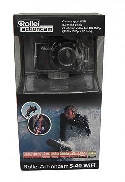 Caméra d'action rollei s-40 standard edition 40249 wiFi noir