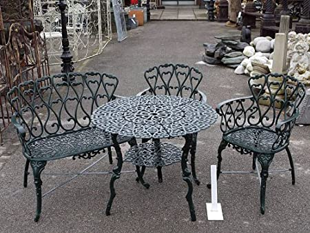 Daisy Patio Set Cast Iron Free UK Mainland Delivery