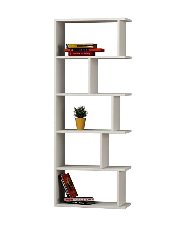 Decortie By Homemania Libreria Tapi Bianco