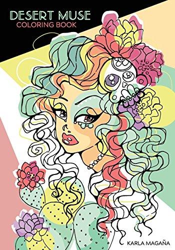 Desert Muse Coloring Book [Magana, Karla] (Tapa Blanda)
