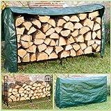ProBache - Serre bûche luxe range bois grande capacité