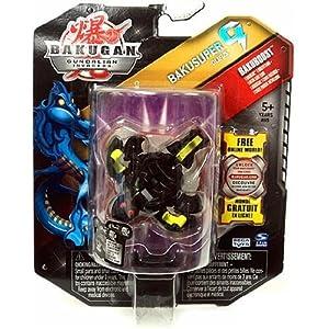 Bakugan Gundalian Invaders BakuBoost - BakuSuper G - Darkus OLIFUS (Black)