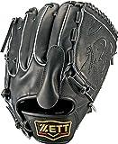 ZETT(ゼット) 野球 硬式 ピッチャー グラブ(グローブ) プロステイタス (左手用) BPROG51 ブラック