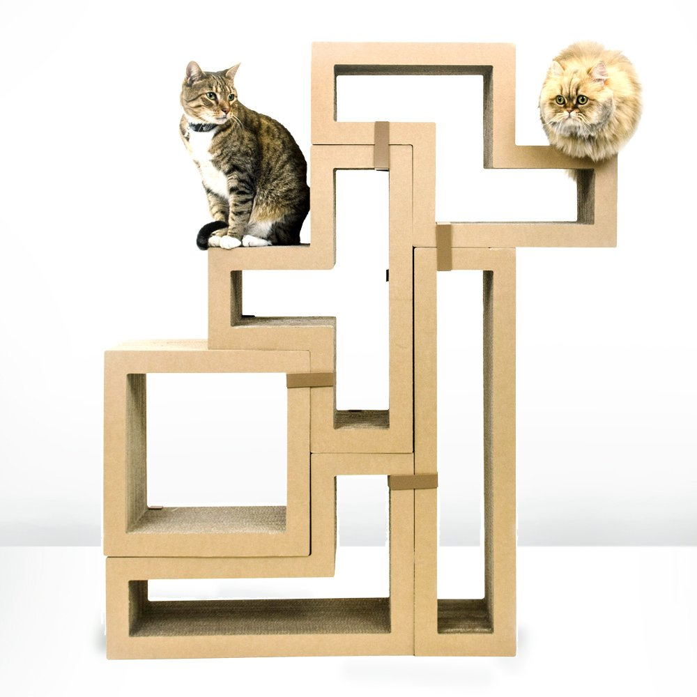 Cool cat tree plans for Cat climber plans