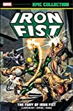 img - for Iron Fist Epic Collection: The Fury of Iron Fist book / textbook / text book