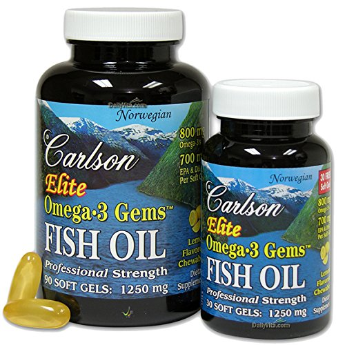 Top best 5 fish oil carlson lemon for sale 2016 product for Carlson fish oil amazon