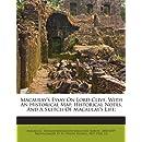 Macaulay's essay on Lord Clive | Общие работы по всемирной истории