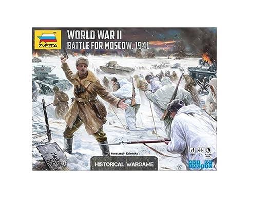 Jeu de société - Bataille pour Moscou (ATD) Seconde Guerre mondiale - BX-A3-5-T48 - Zvezda