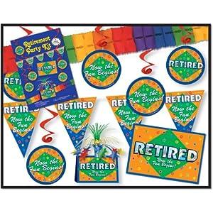 Retirement Party Kit Party Accessory (1 count) (9/Pkg)