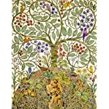 Design for wallpaper or textile, by C.F.A.Voysey (Print On Demand)