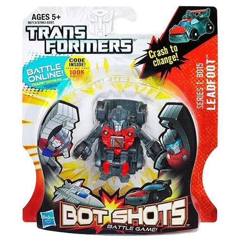 Leadfoot Bot Shots Battle Game Series 1 Vehicle. - 1