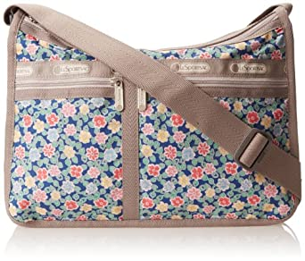 LeSportsac Deluxe Everyday Handbag,Tirol Floral,One Size