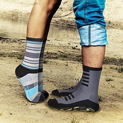 StopSocks - The Best Traction Tread Non-Slip / Non-Skid Luxury Yoga Socks