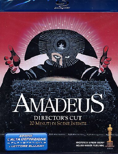 Amadeus(directors cut) [Italia] [Blu-ray].