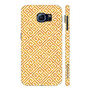 Enthopia Designer Hardshell Case The Yellow Greecian Look Back Cover for Samsung Galaxy S7 Plus
