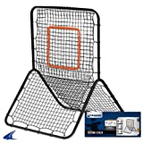 Champro Heavy Duty Pitch Back Screen (Silver Green, 58 x 42-Inch) by Champro