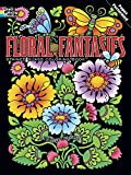 Floral Fantasies Stained Glass Coloring Book (Dover Coloring Books) (0486498077) by Swanson, Maggie