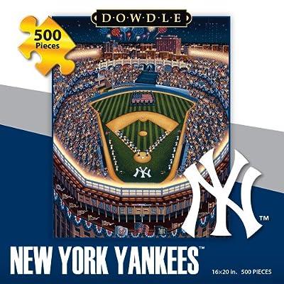Jigsaw Puzzle - New York Yankees 500 Pc By Dowdle Folk Art